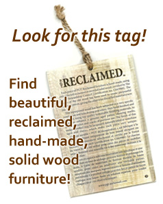 Click to learn more about Reclaimed wood.